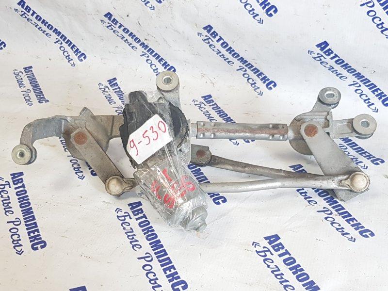 Механизм стеклоочистителя Honda Fit GE6 L13A 2008 передний