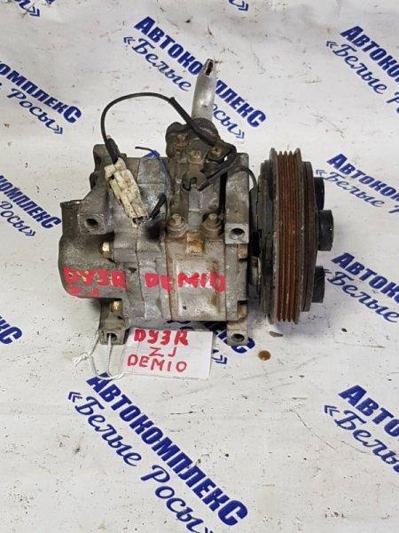 Компрессор кондиционера Mazda Demio DY3R ZJ 2006