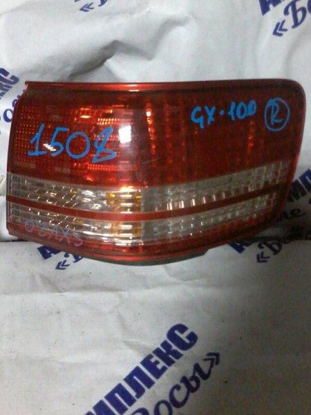 Стоп-сигнал Toyota Mark Ii Qualis SVX20 2MZFE 1997 задний правый