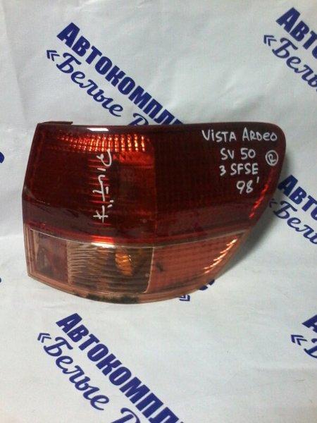 Стоп-сигнал Toyota Vista Ardeo SV50 3SFSE 1998 задний правый