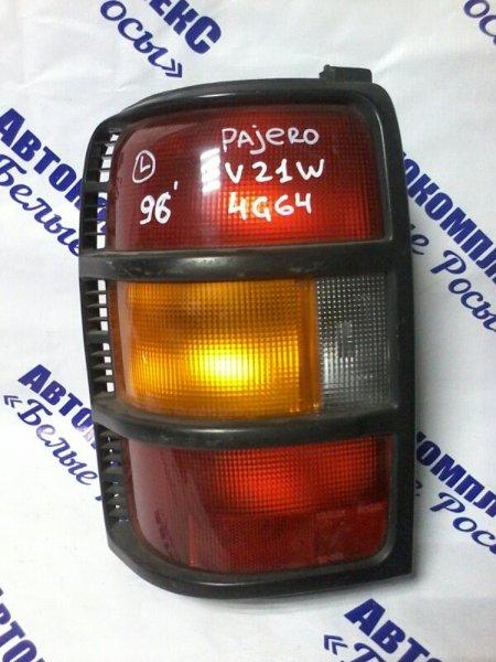 Стоп-сигнал Mitsubishi Pajero V21W 4G64 1996 задний левый
