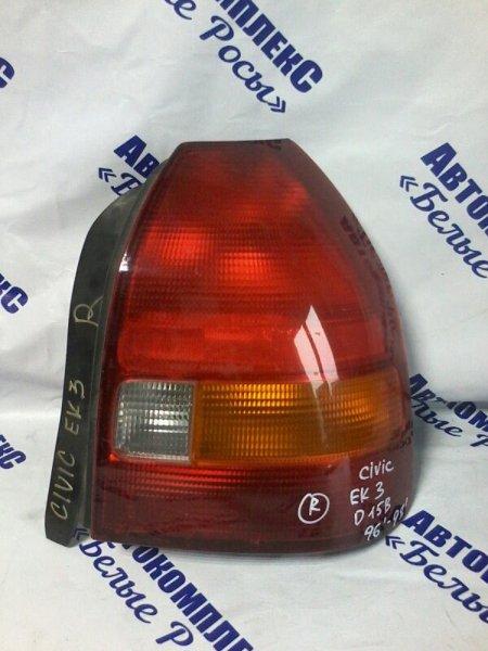 Стоп-сигнал Honda Civic EK3 D15B 1996 задний правый