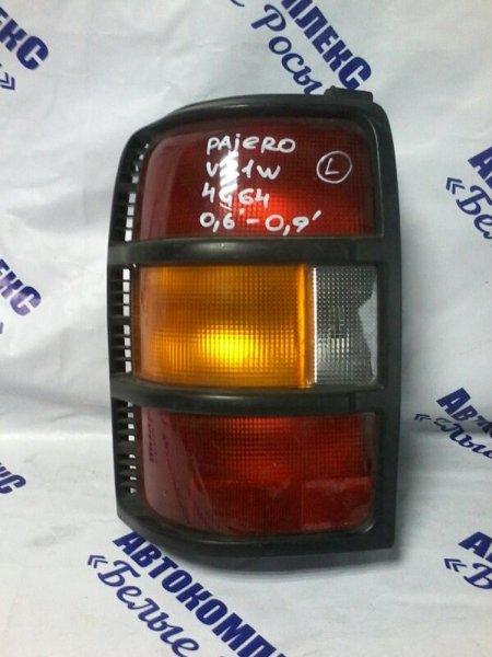 Стоп-сигнал Mitsubishi Pajero V21W 4G64 2006 задний левый
