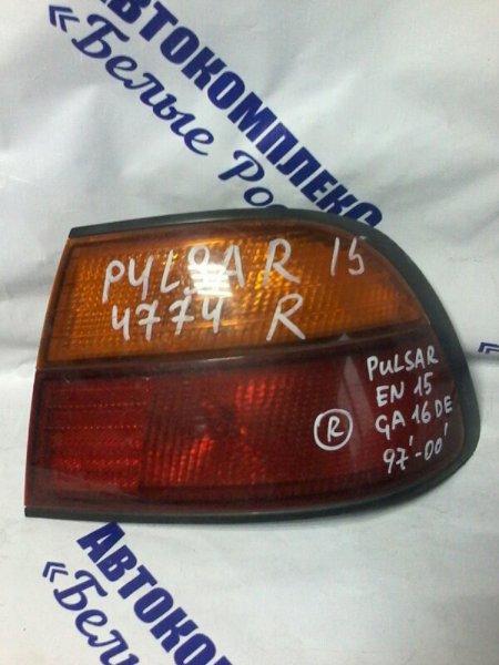 Стоп-сигнал Nissan Pulsar EN15 GA16DE 1997 задний правый
