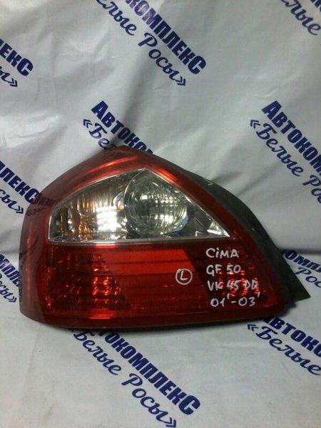 Стоп-сигнал Nissan Cima GF50 VK45 2001 задний левый