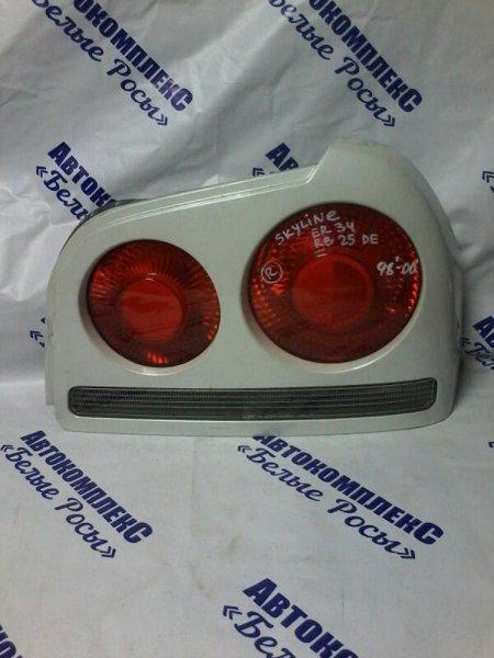 Стоп-сигнал Nissan Skyline ER34 RB25DE 1998 задний правый