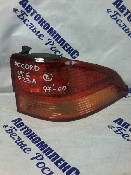 Стоп-сигнал Honda Accord CF6 F23A 1997 задний правый