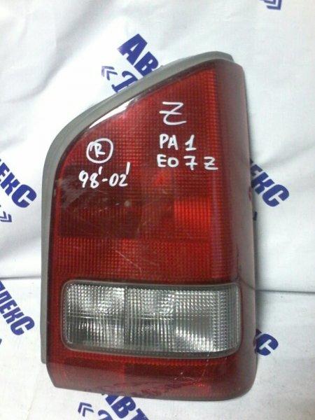 Стоп-сигнал Honda Z PA1 EO7Z 1998 задний правый