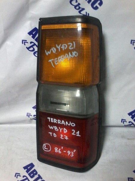 Стоп-сигнал Nissan Terrano WBYD21 TD27 1986 задний левый