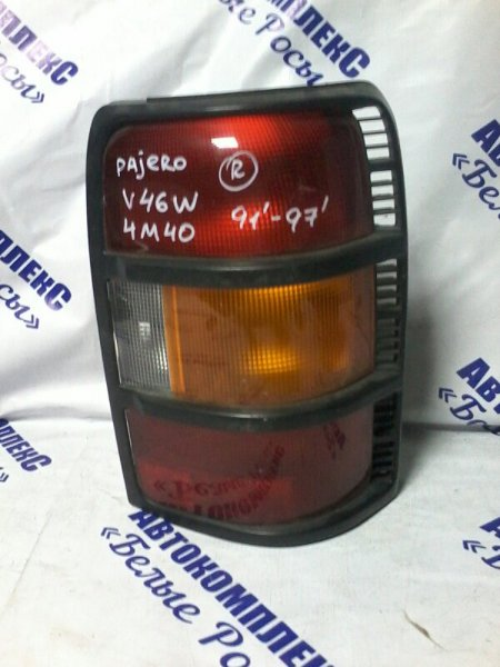 Стоп-сигнал Mitsubishi Pajero V46W 4M40 1991 задний правый