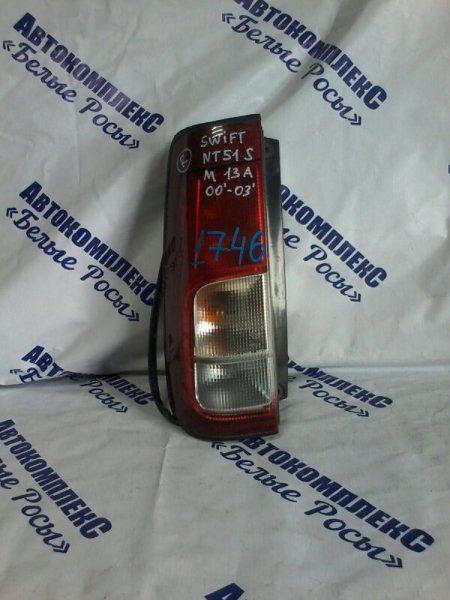 Стоп-сигнал Suzuki Swift HT51S M13A 2000 задний правый