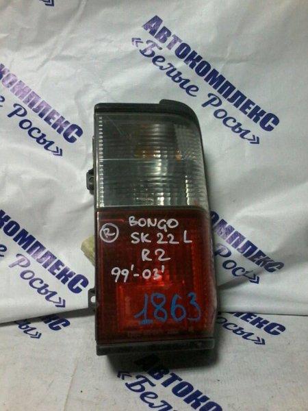 Стоп-сигнал Mazda Bongo SK22L R2 1999 задний правый
