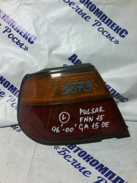 Стоп-сигнал Nissan Pulsar FNN15 GA15DE 1996 задний левый