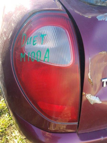 Стоп-сигнал Toyota Duet M100A EJDE.EJVE 2000 задний левый