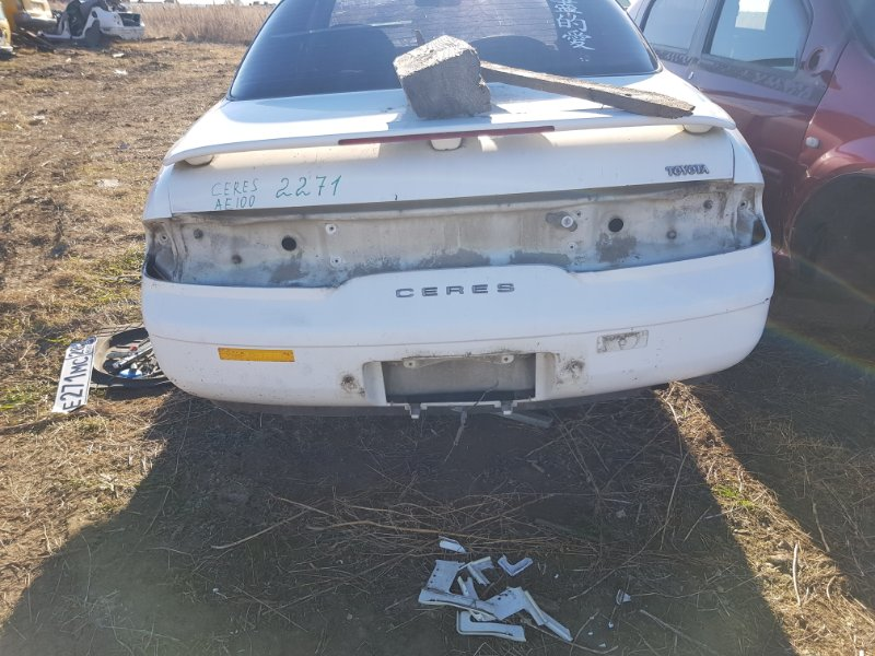Бампер Toyota Corolla Ceres AE100 5AFE 1992 задний