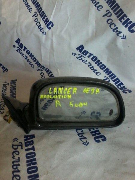 Зеркало Mitsubishi Lancer Evolution CE9A 4G63 2003 переднее правое