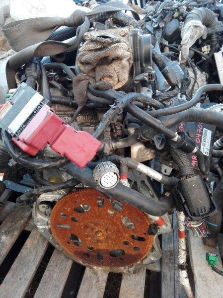 Двигатель Nissan Wingroad JY12 MR18