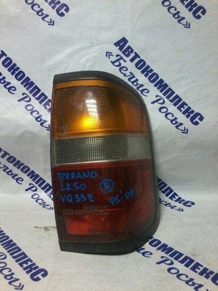 Стоп-сигнал Nissan Terrano LR50 VQ33E 1995 задний правый