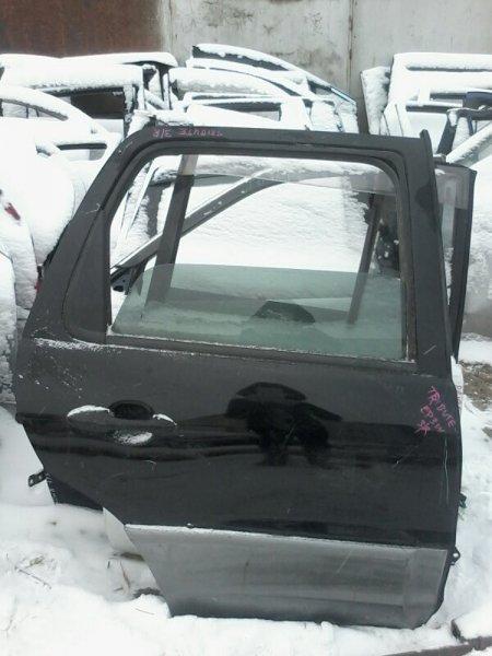 Дверь Mazda Tribute EP3W L3 2002 задняя правая
