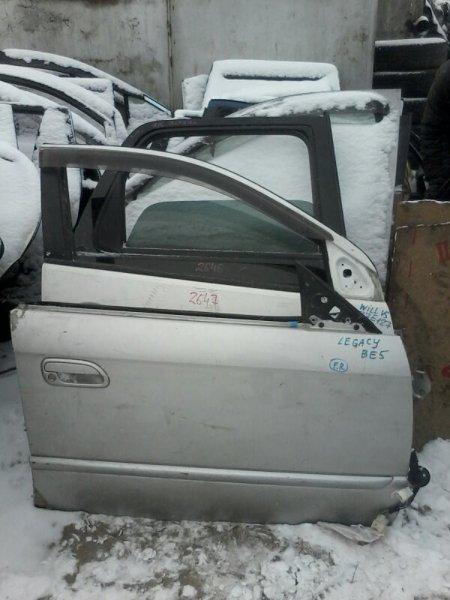 Дверь Subaru Legacy BE5 EJ202 2000 передняя правая