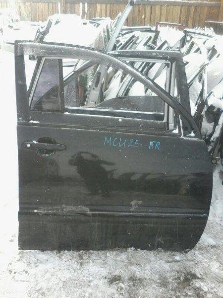 Дверь Toyota Kluger MCU25 1MZ 2004 передняя правая