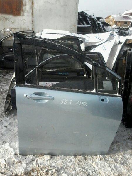 Дверь Honda Freed GB3 L15A 2010 задняя левая