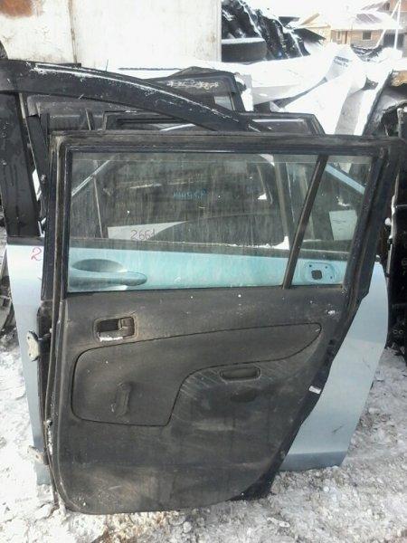 Дверь Toyota Succeed NCP51 1NZFE 2001 задняя правая