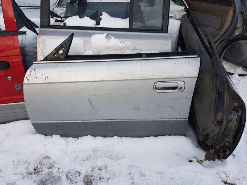Дверь Toyota Vista SV40 3S FE 1995 передняя левая
