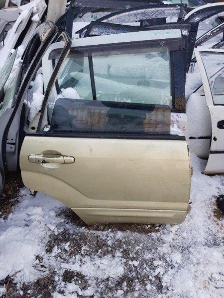 Дверь Subaru Forester SG5 EJ20 2003 задняя правая