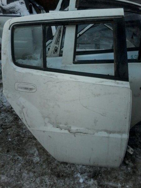 Дверь Toyota Will Cypha NCP75 1NZFE 2002 задняя правая