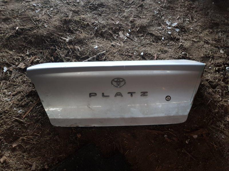 Крышка багажника Toyota Platz SCP11 1SZFE 2000