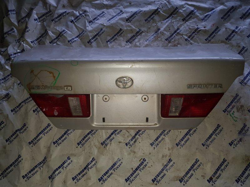 Крышка багажника Toyota Sprinter AE110 5AFE 1995
