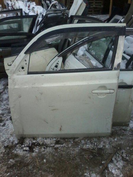 Дверь Toyota Bb QNC20 K3VE 2005 передняя левая