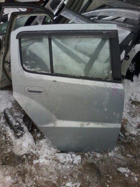Дверь Toyota Will Cypha NCP70 1NZFE 2002 задняя правая