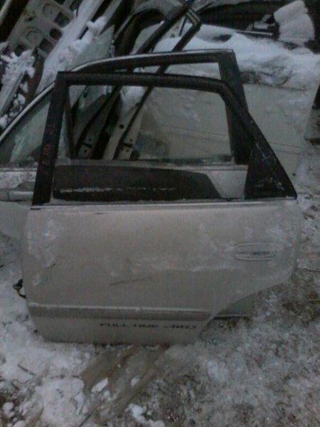 Дверь Toyota Sprinter AE111 4AFE 1995 задняя левая