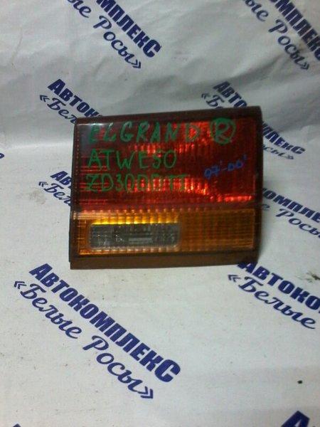 Стоп-сигнал Nissan Elgrand ATWE50 ZD30DDTI 1997 задний правый