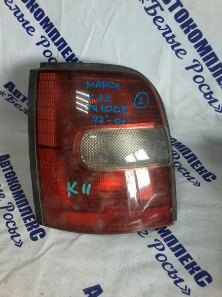 Стоп-сигнал Nissan March K11 CG10DE 1997 задний левый