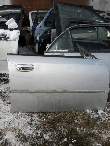 Дверь Subaru Legacy BP5 EJ20 2003 передняя правая