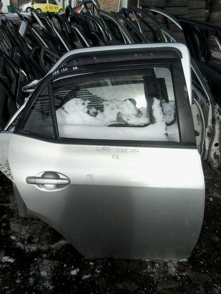 Дверь Toyota Auris NZE154 1NZ FE 2007 задняя правая