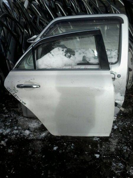 Дверь Toyota Mark X GRX120 4GRFSE 2004 задняя правая