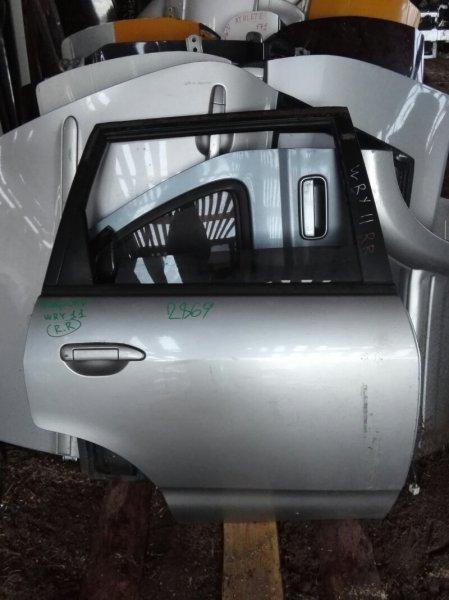 Дверь Nissan Wingroad WRY11 QR20DE 1999 задняя правая
