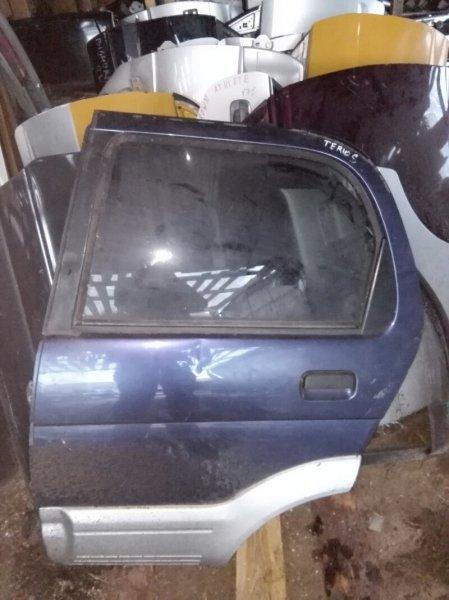 Дверь Daihatsu Terios J131G EFDEM 1998 задняя левая