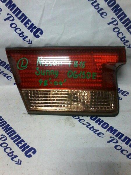 Стоп-сигнал Nissan Sunny FB15 QG15DE 1998 задний левый