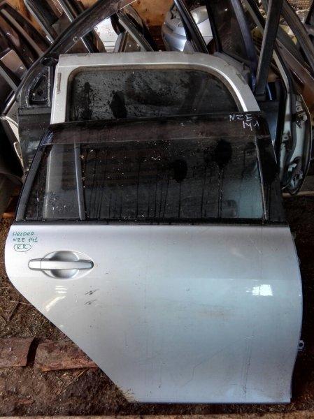 Дверь Toyota Corolla Fielder NZE141 1NZ FE 2006 задняя правая