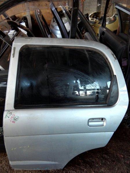 Дверь Daihatsu Terios Kid J131G EFDEM 1998 задняя левая