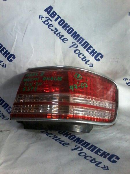Стоп-сигнал Toyota Mark Ii Qualis SVX20 5SFE 1997 задний правый