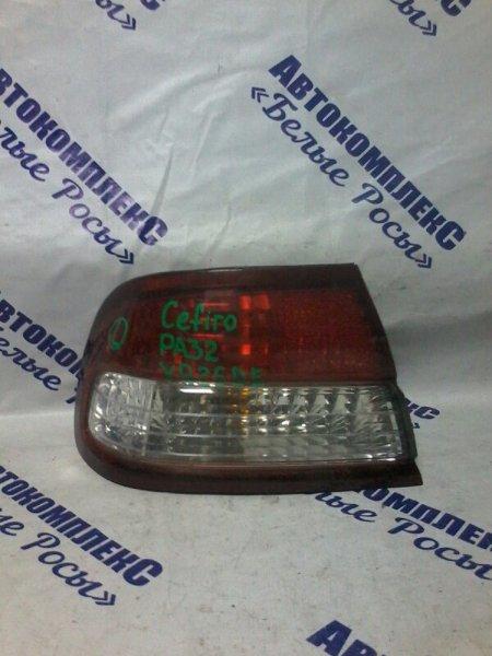 Стоп-сигнал Nissan Cefiro PA32 VQ25DE 1998 задний левый