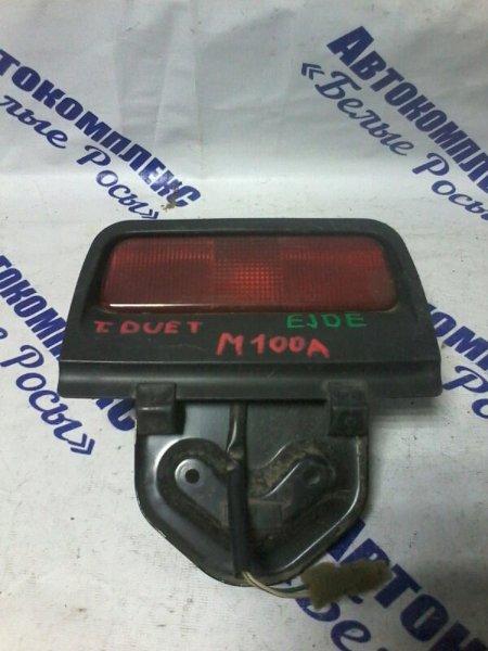 Стоп-сигнал Toyota Duet M100A EJDE 1999 задний