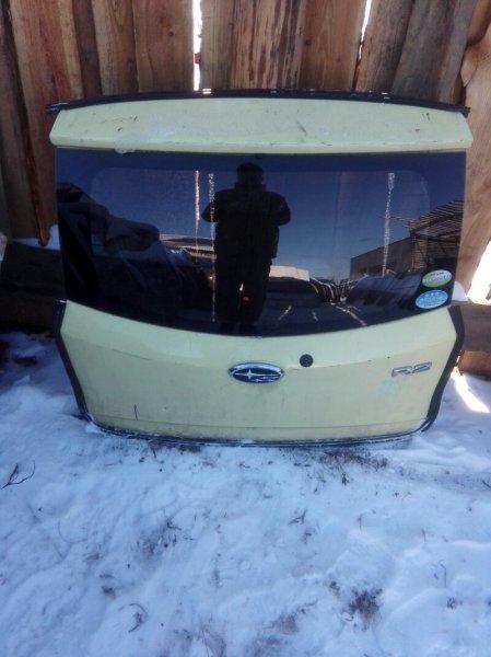 Дверь багажника Subaru R2 RC1 EN07 2003 задняя