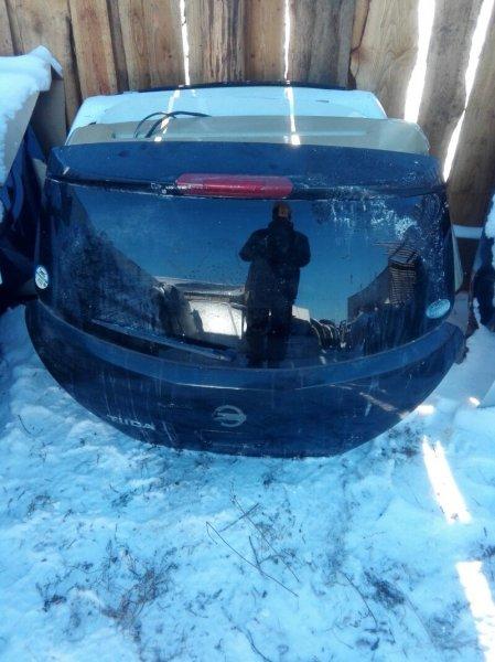 Дверь багажника Nissan Tiida C11 HR15DE 2004 задняя